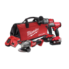 Milwaukee M18 FUEL 3 PIECE POWER PACK (FPD2 FIWF12 CAG125XPD)- 5Ah Kit M18FPP3B2-502B