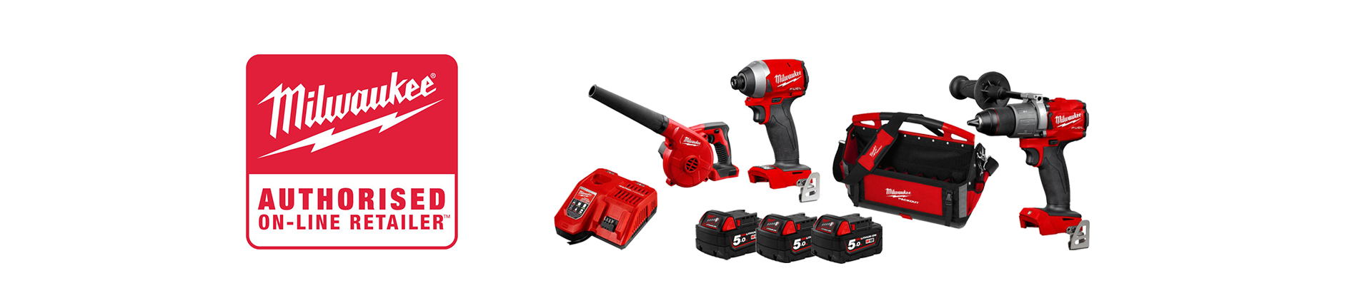Milwaukee 3 Piece Heavy Duty Kit