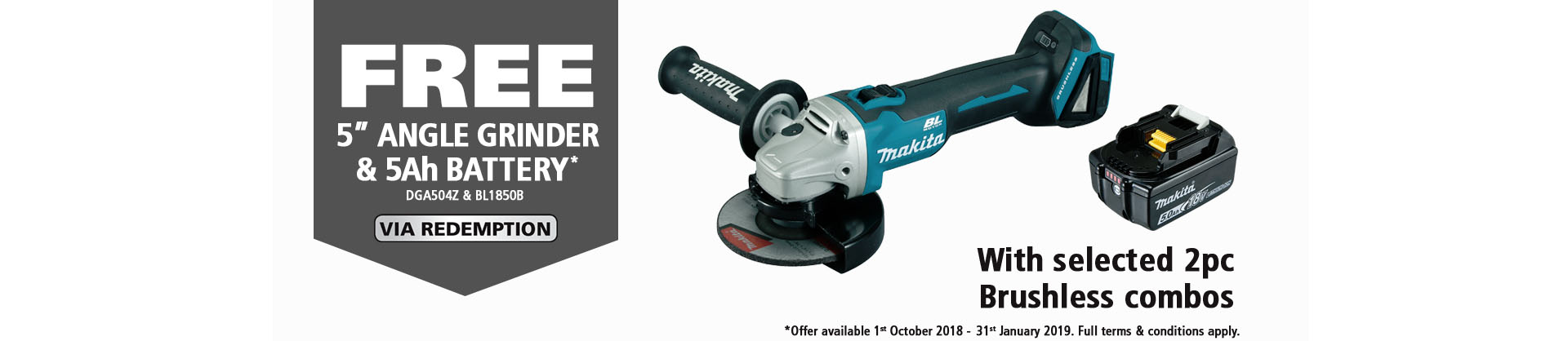 Makita Redemption Offer