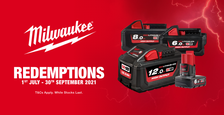 MILWAUKEE REDEMPTIONS JULY-SEPT